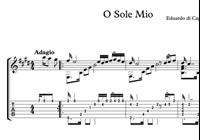 Imagen de O Sole Mio Sheet Music & Tabs