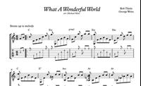 Immagine di What A Wonderful World Sheet Music & Tabs
