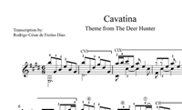 """Picture of Cavatina (from """"The Deer Hunter"""") Sheet Music"""